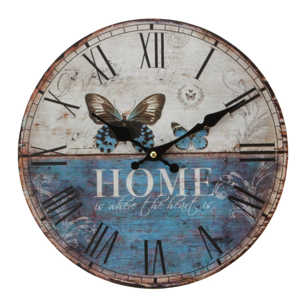Modern Home Butterfly Wall Clock - Contemporary Design