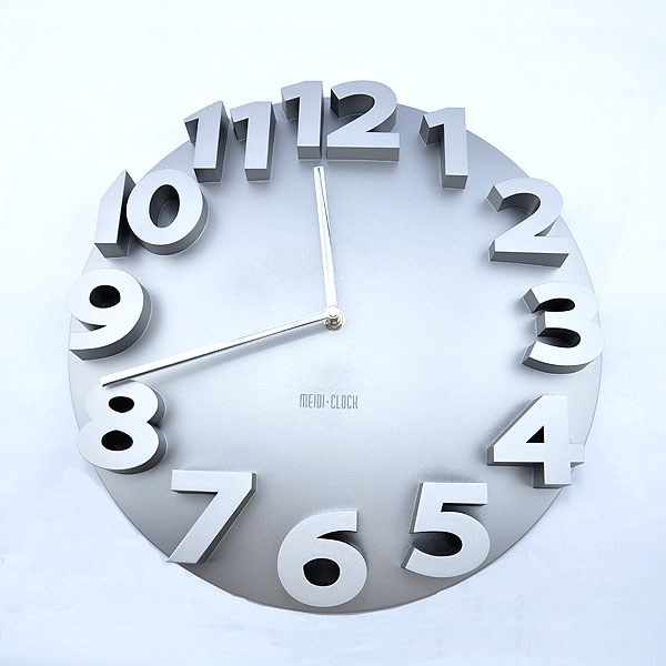 3D Contemporary Round Digital Office Home Decor Wall Clock ($43.95 ...