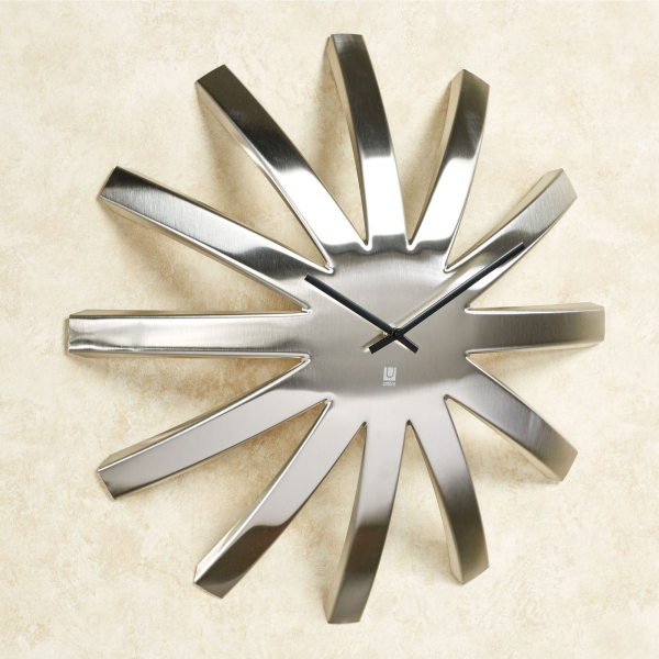 Home > Burst Contemporary Metal Wall Clock