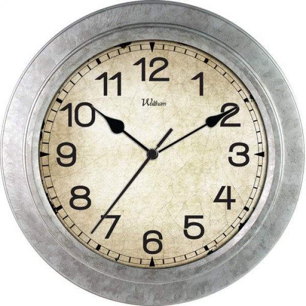Ashton Sutton 12'' Quartz Analog Wall Clock - Walmart.com