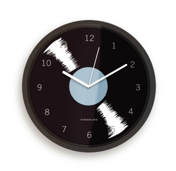 Vinyl Record Wall Clock: Cool Funky Wall Clock
