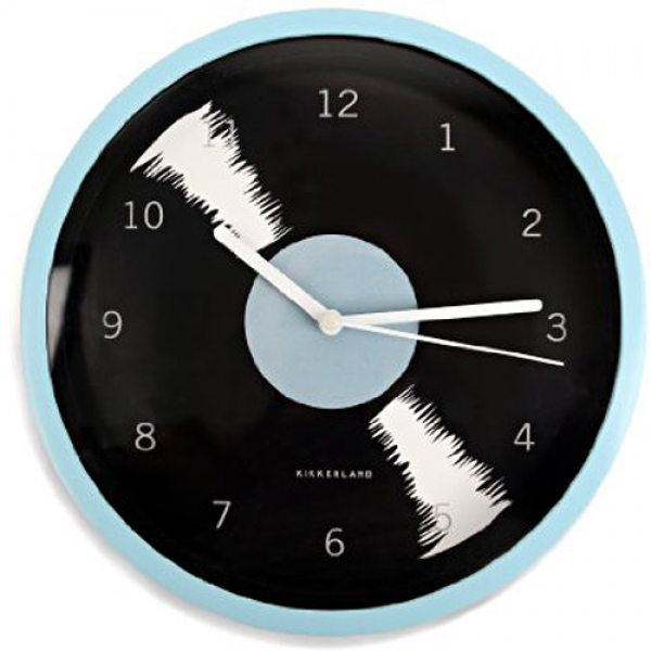 Kikkerland Vinyl Record Wall Clock | | Calendars.com