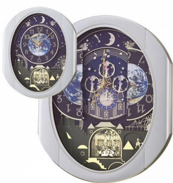 ... Entertainer Musical Wall Clock Quartz Including Holiday Melodies