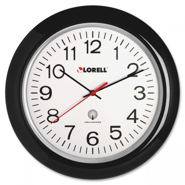 Lorell Radio Controlled Wall Clock LLR60994 | iBuyOfficeSupply