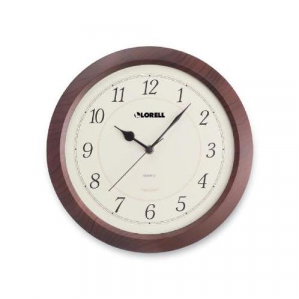 Lorell Radio Control Wall Clock LLR60986: Decor : Walmart.com