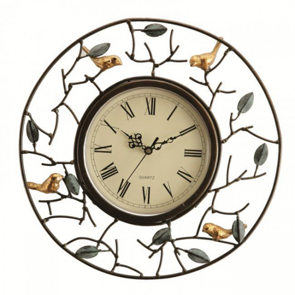 Bird wall clock | Just in Time! | Pinterest