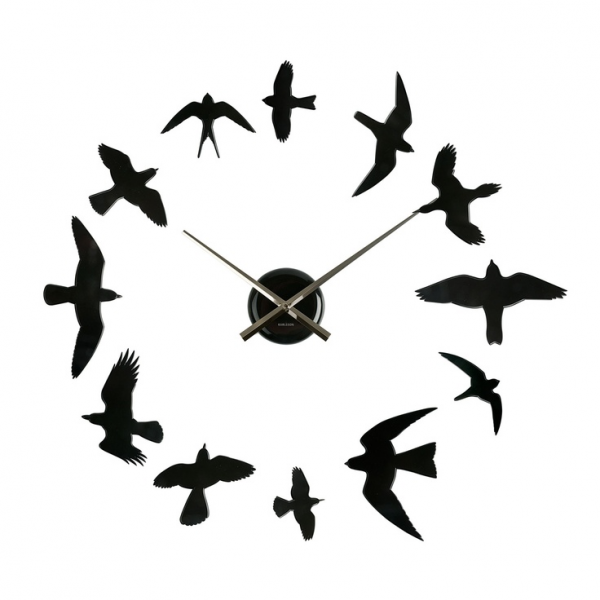 Birds Wall Clock | kewl klocks | Pinterest