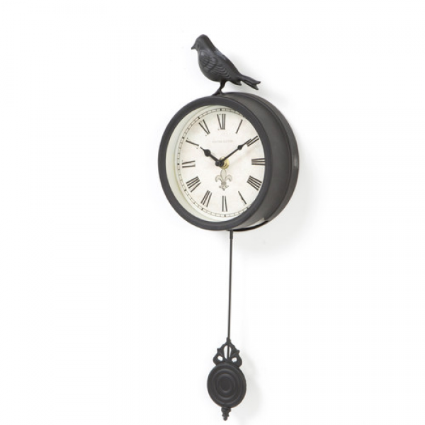 Ashton Sutton 6 Bird Pendulum Wall Clock