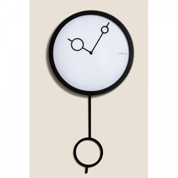Nextime Hole in Wall Pendulum Clock - Walmart.com