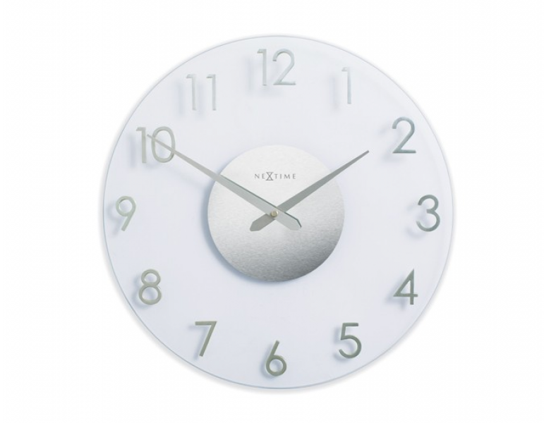 Nextime Banuro Glass Wall Clock