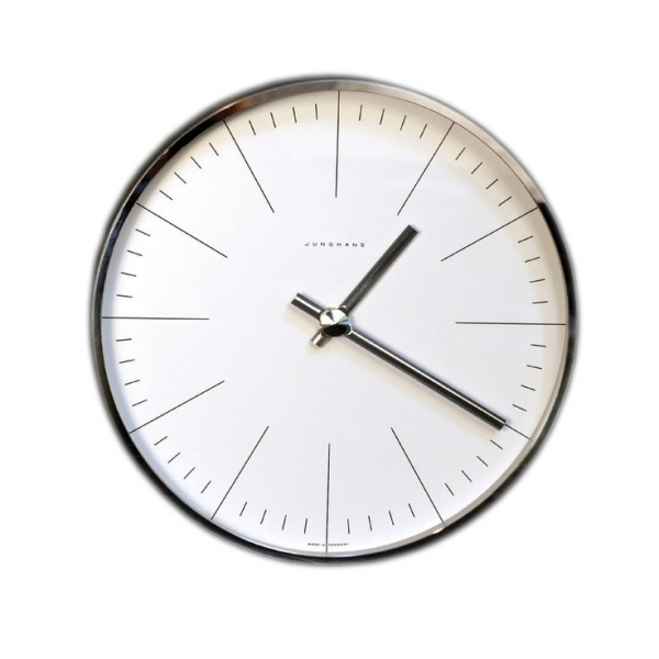 Max Bill Wall Clock with Lines | almost 10 after 10 | Pinterest