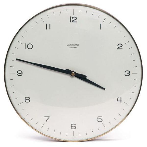 Max Bill Junghans Wall Clock