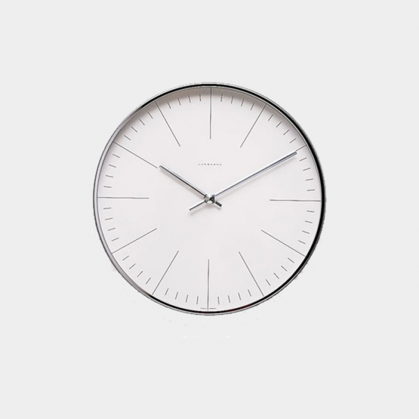 Max Bill | Wall Clock 1956