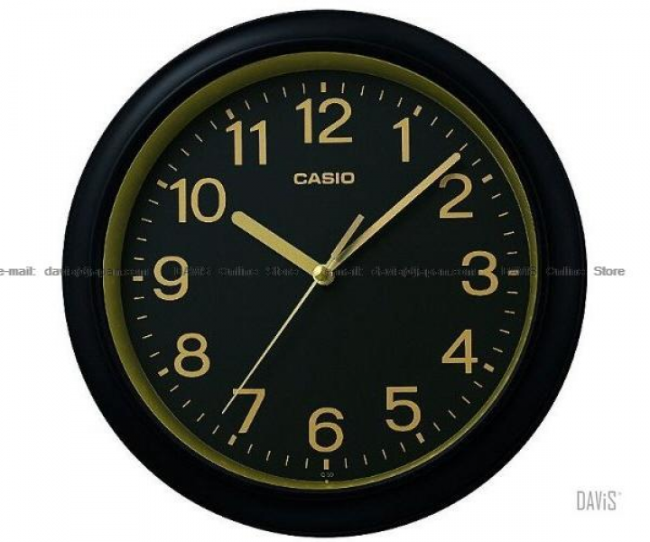 CASIO IQ-59-1 analogue wall clock simple easy read (end 4/19/2016 8:59 ...
