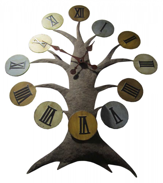 Oak Tree Wall Clock - New Wall Clocks