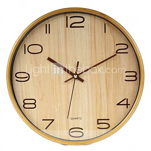 Modern Business Wood Wall Clock | Modern Clocks | Pinterest