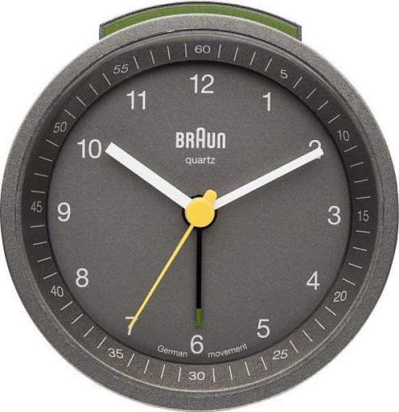 Braun Classic Analog Quartz Alarm Clocks: Cool Alarm Clocks - Top ...
