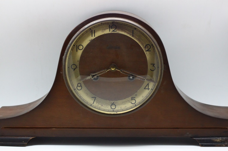 Linden Art Deco Wooden Table clock | Lu-Ann Vintage Collection