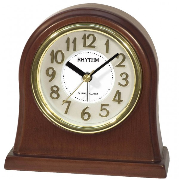 Home / Rhythm Wooden Table Clock CRE943NR06