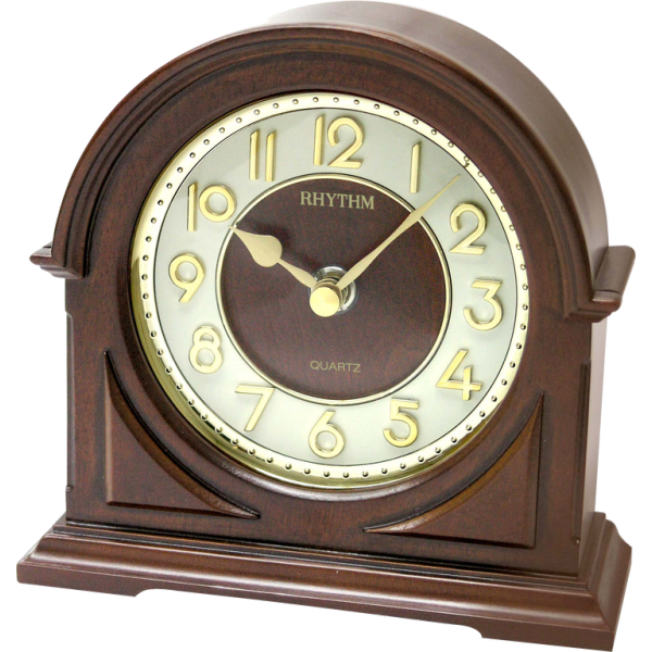 Home / Rhythm Wooden Table Clock CRG109NR06
