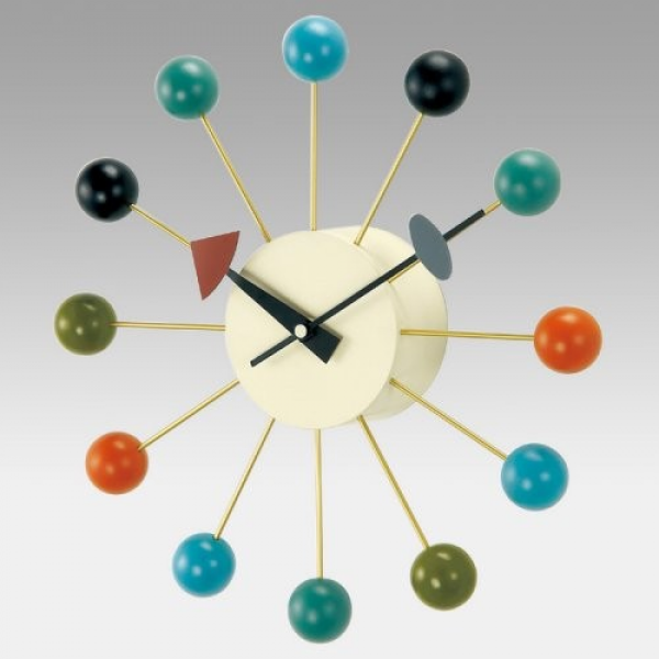 George Nelson Ball 13 Inch Wall Clock by Kirch - Modern - Clocks - by ...