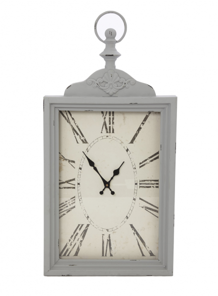 Grey Vintage Fob Wall Clock - wall art, clocks & mirrors - Home ...