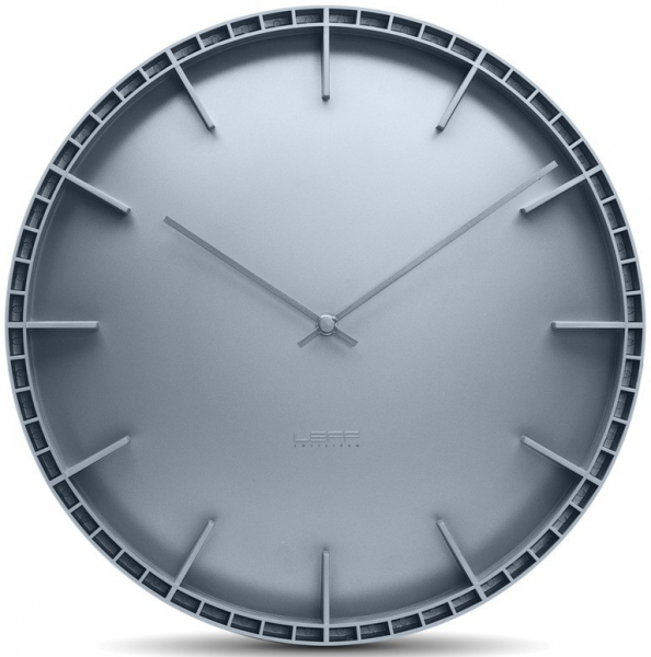 ... Shop › Colour › Grey › Leff Dome Grey Ultra Modern Wall Clock