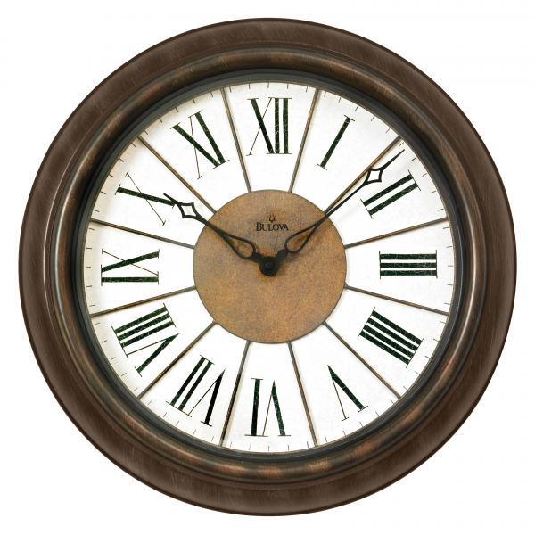 ... Newington 18 in. Indoor/Outdoor Wall Clock - Wall Clocks at Hayneedle