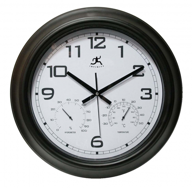 Infinity Indoor Outdoor Wall Clock Seer