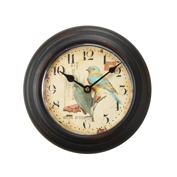 ... Round Wall Clock - Overstock Shopping - Great Deals on Adeco Clocks