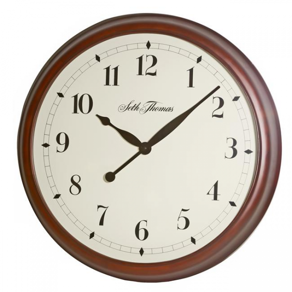 ... Quartz Wall Clock - Overstock™ Shopping - Top Rated Seth Thomas Wall