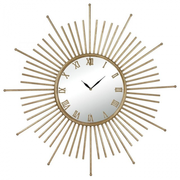 Mid Century Style Wall Clock contemporary-clocks