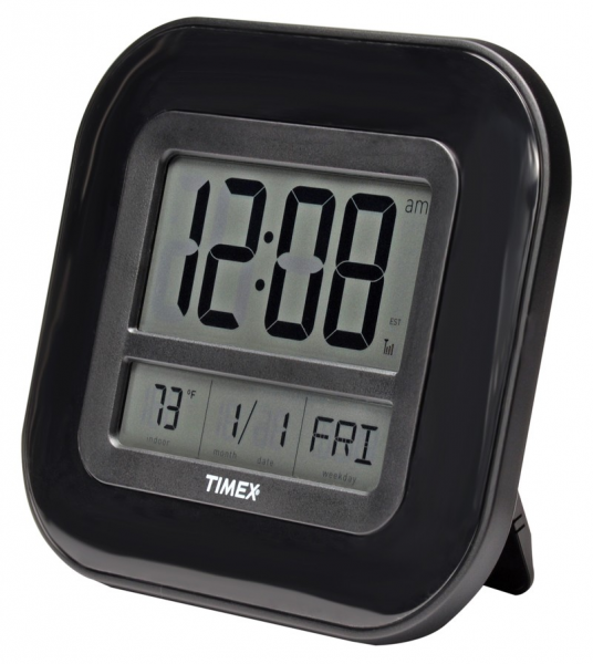 Timex Atomic Digital Time, Temp & Date Wall Clock 75322TA1