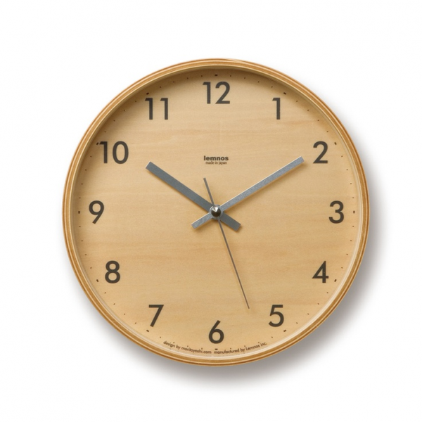 Lemnos Plywood S Wall Clock | rooms | Pinterest
