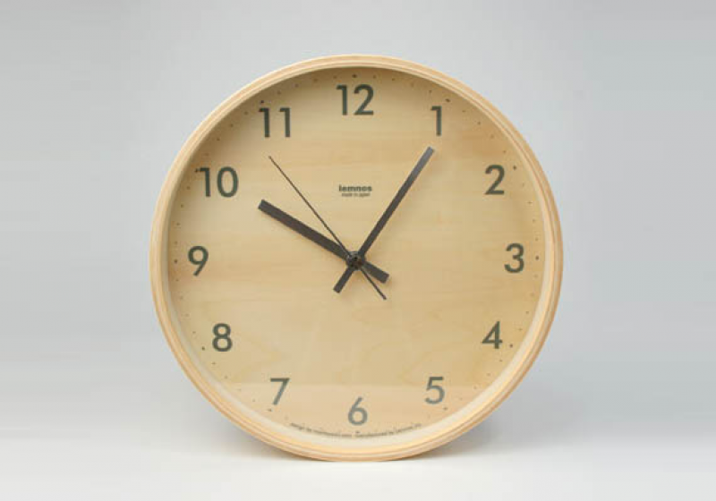 Lemnos Plywood Wall Clock | Cool Material