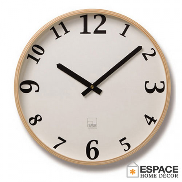 ... Lemnos ) clock the Plywood (plywood clock) T1-030 the watch / wall