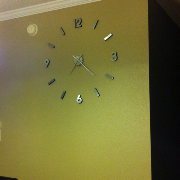 Cupecoy design wall clock in my kitchen. | stuff I like | Pinterest