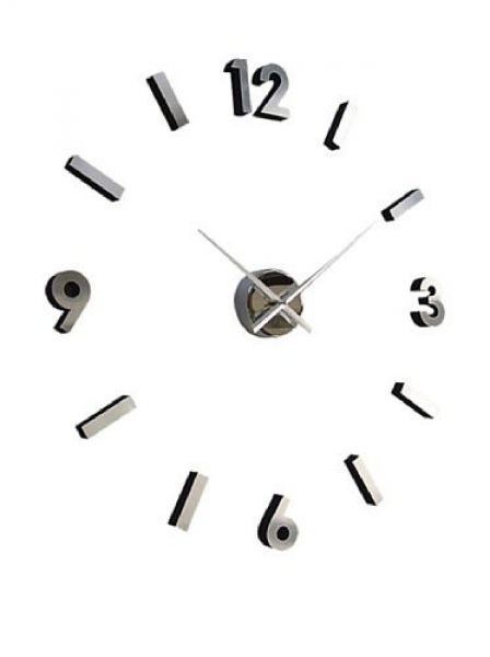 Design Modern Contemporary Abstract Wall Clock - Numbers by Cupecoy ...
