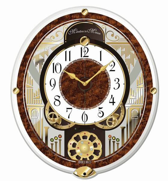 Details about SEIKO Melodies in Motion Wall Clock - QXM265BRH