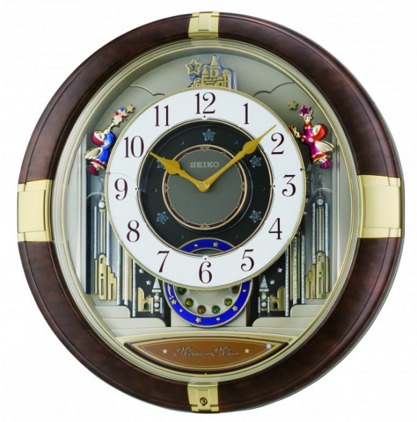 ... Clocks > Seiko Clock - Melodies in Motion: Rebel Musical Wall Clock