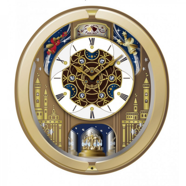 Melodies in Motion: Victoria Musical Wall Clock