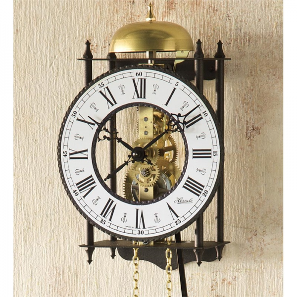 ... Home > Home Accessories > Clocks > Hermle® Iron Skeleton Wall Clock