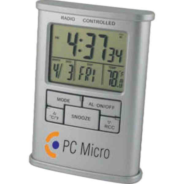 Atomic - Atomic Digital Desk Clock Display Includes Time, Date, Day Of ...