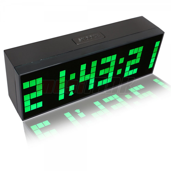 Digital Large Big Jumbo LED Snooze Wall Desk Alarm Indoor Calendar ...