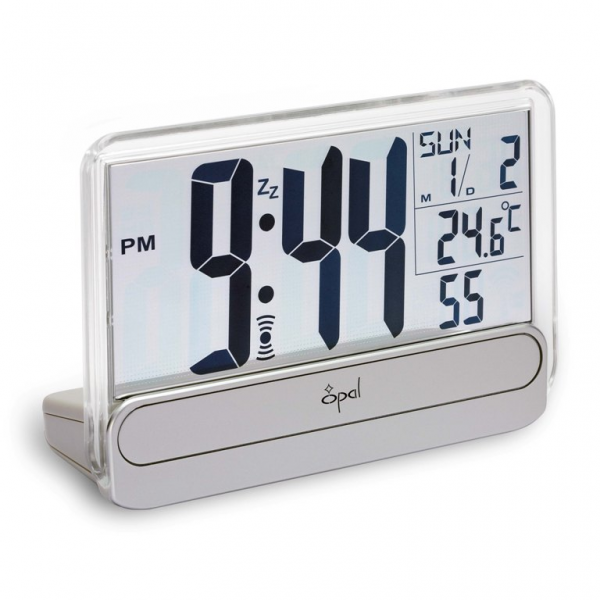 Buy Opal Grey Digital Table Clock - Style No. 4527 Online at Best ...