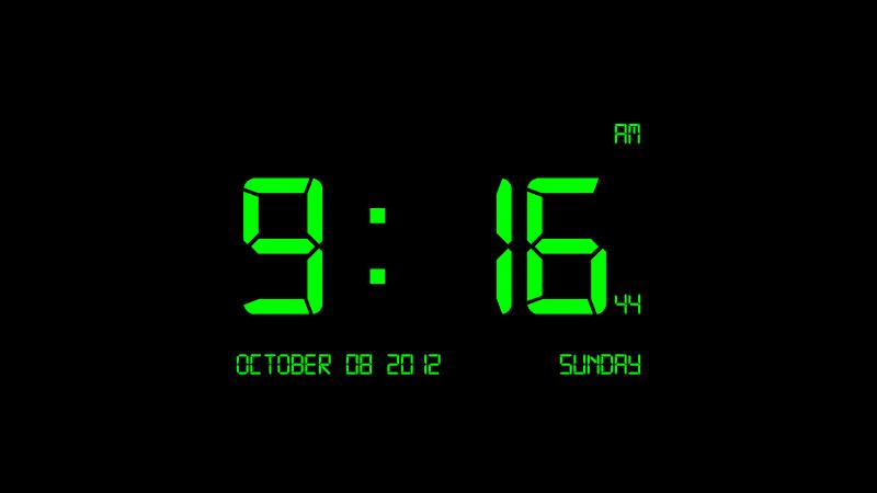 заставка на рабочий стол часы и календарь № 180379 бесплатно