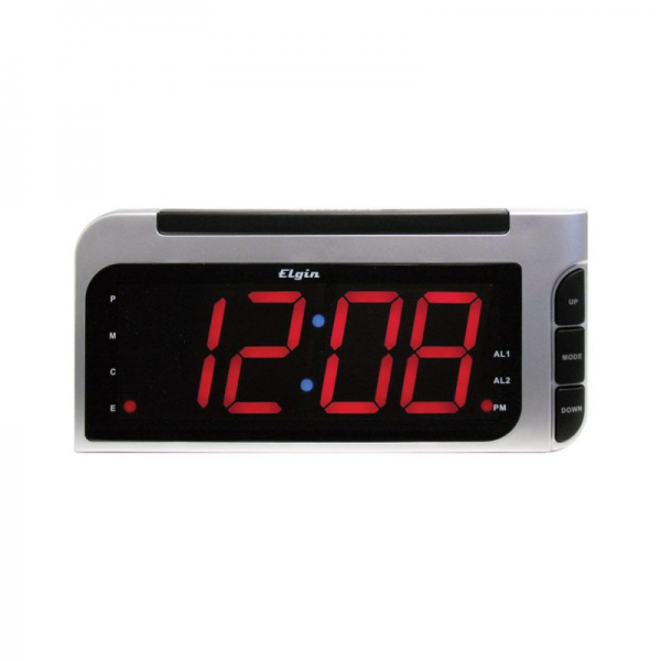 Geneva Clocks 4537E Electric LED Alarm Table Clock Clocks