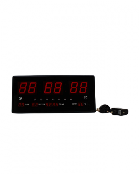 Electric LED Digital Clock with Alarm