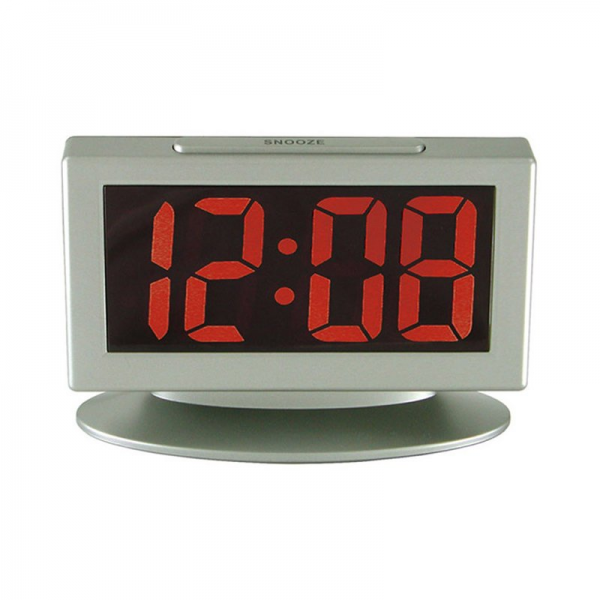 ... > Clocks > Table Clocks > Geneva Clocks 3112AT Electric LED Alarm