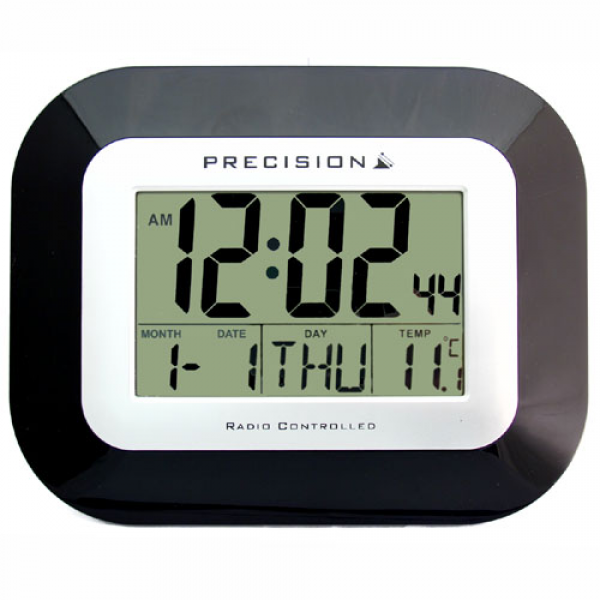 ... about Precision Atomic Radio Controlled Digital Wall/Desk Clock AP034